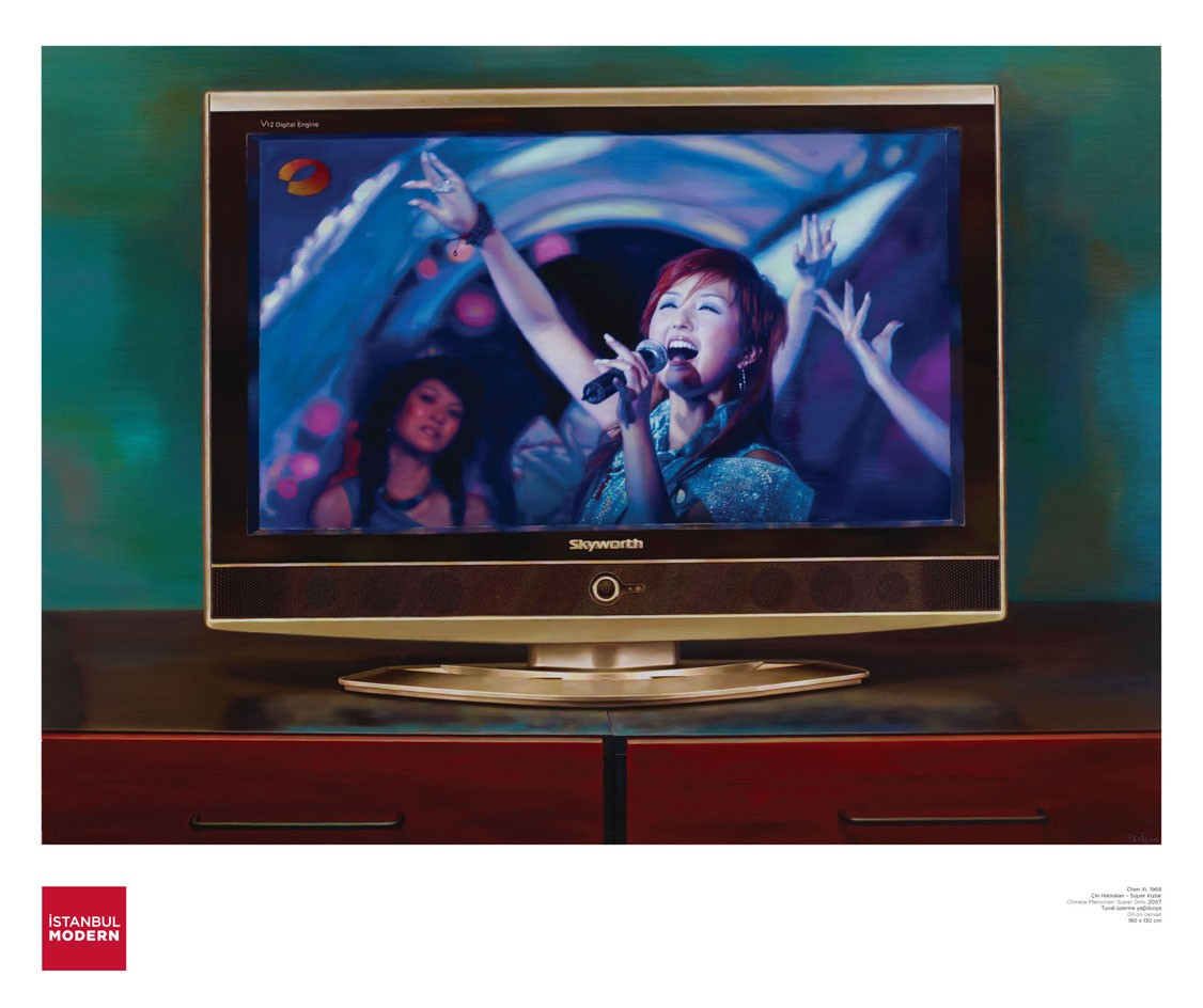 Posters Stanbul Modern # Television Moderne